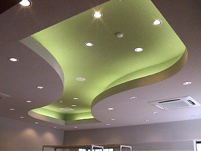 ■休憩コーナー天井