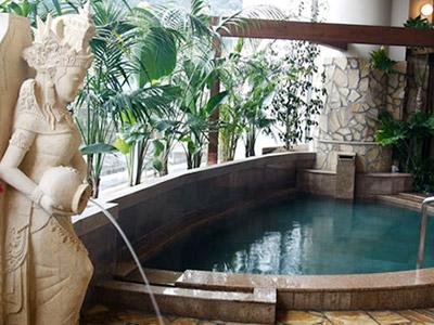 ■バリ風内風呂